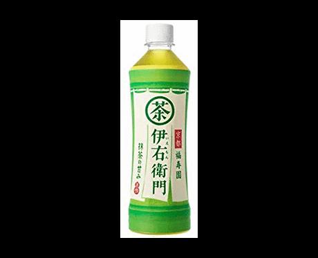 iemon Green tea bottle Fukujuen Suntory 525g