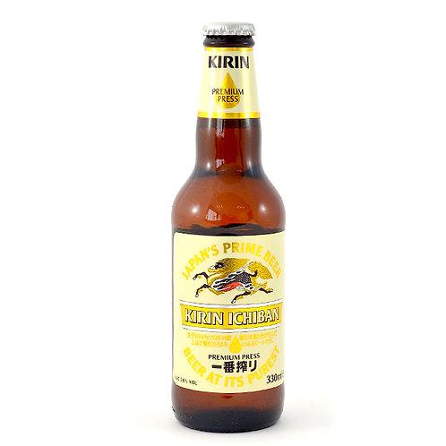 Kirin Ichiban Shibori Lager Beer, 330 g