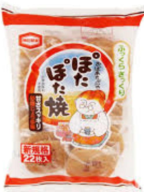 Potapota Yaki Rice cracker 22pcs