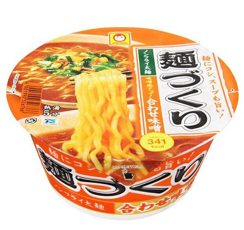 Menzukuri Miso ramen cup 1+1 P 麺つくり味噌ラーメンカップ1+1