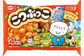 Kotsubukko Rice cracker 124g亀田製菓こつぶっこ