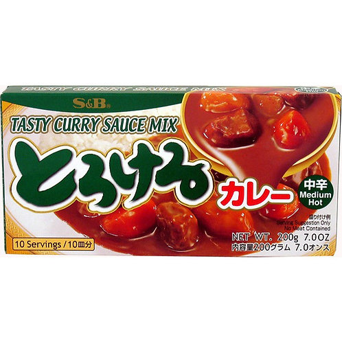Torokeru Curry Mid-Hot 200g 10serv