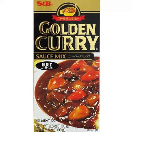 S&B Golden curry hot 92g