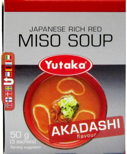 Red Miso soup Akadashi Yutaka 3portion