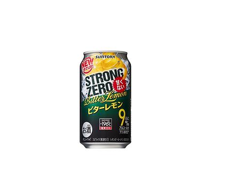 Strong zero Chuhai double lemon 350ml 9% Alc Suntoryサントリーストロングゼロビターレモン