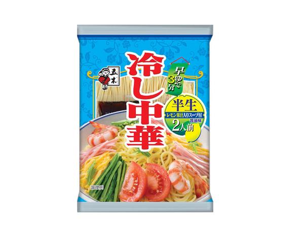 Hiyashi chuka Soy sauce lemon