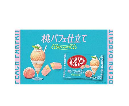 Kitkat peach parfait chocolate キットカット桃パフェ仕立て
