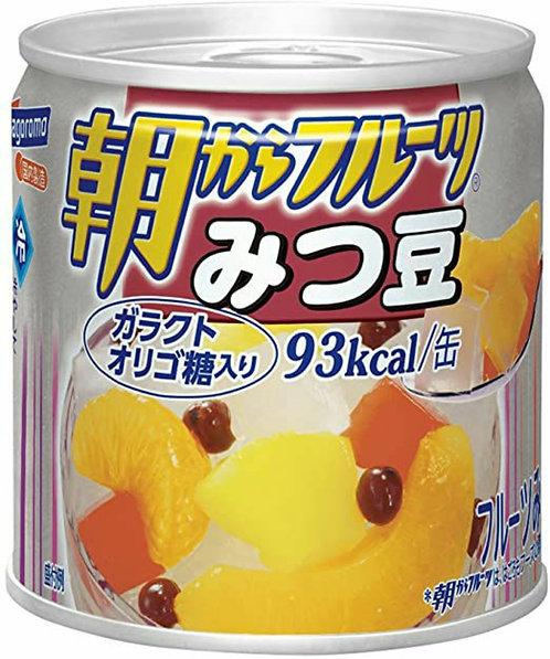 Fruits Mitsumame can はごろも朝からフルーツみつまめ