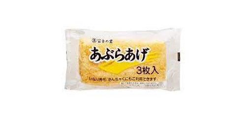 Aburaage 3p 富岡食品油揚げ3個