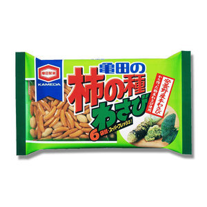 Kakinotane Wasabi rice cracker 182g