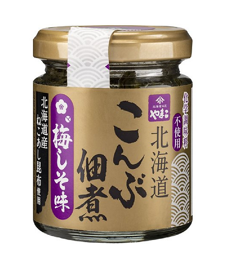 Hokkaido Kombu tsukudani Umeshiso 75g小林食品北海道昆布佃煮梅しそ