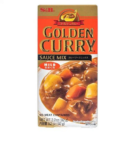 S&B Golden curry mild 92g