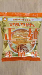 Seimen Miso Ramen Bag 1pマルちゃん正麵味噌味1袋
