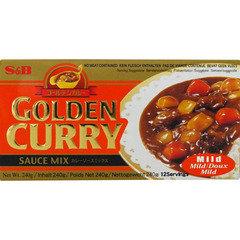 S&B Golden curry mild 280g