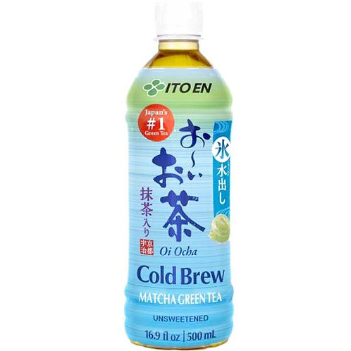 Ooi ocha cold brew Green tea with Matcha bottle 500ml