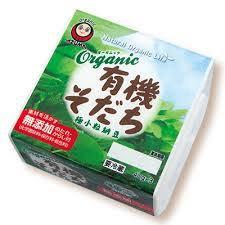 Organic Bio Natto 3pアズマ有機そだち納豆3パック