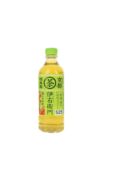 iemon Green tea with Matcha  bottle Fukujuen Suntory 525gSサントリー伊右衛門抹茶いり緑茶ボトル入