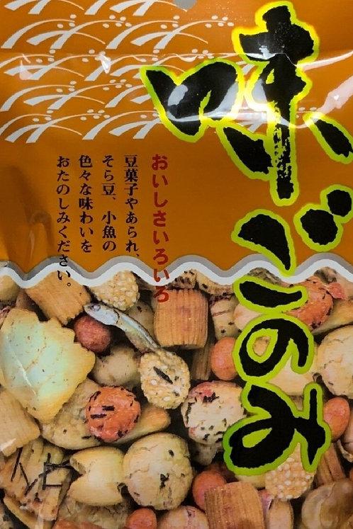 Agi gonomi mixed rice cracker,nuts