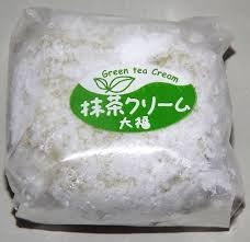 Matcha cream  Fresh Daifuku Mochi 1p