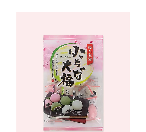 Mini Daifuku Small Mochi 3 taste 三色ミニ大福もち