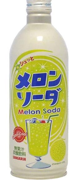 Melon soda Sangaria 500ml