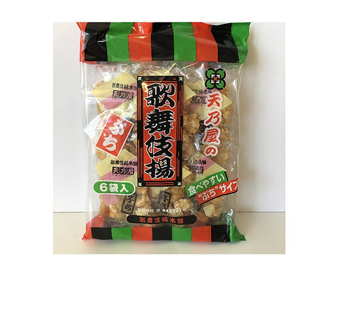 Kabukiage puchi rice cracker Amanoya 天野屋 歌舞伎揚げプチ