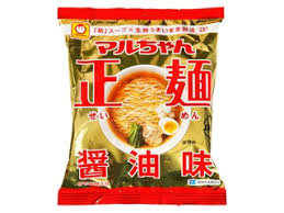 Seimen Shoyu Ramen bag マルちゃん正麺しょうゆ味袋麺