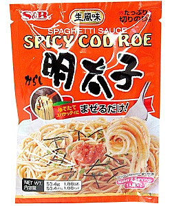 Mentaiko Pasta sauce Spicy Cod Roe, 52 g, 2 servings