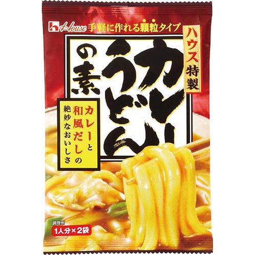 Curry udon base sauce 2pax ハウスカレーうどんの素