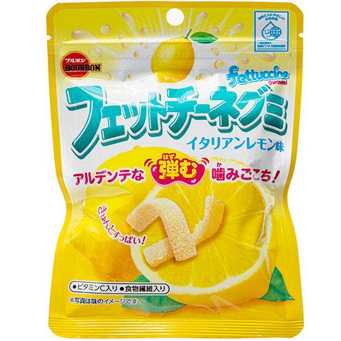 Fettuccine Gummi Lemon  Gummy Candy, 50 g Bourbon