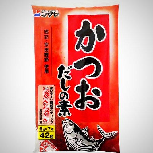Shimaya Bonito Dashi Stock - Powder, 42 g, 7 sticks