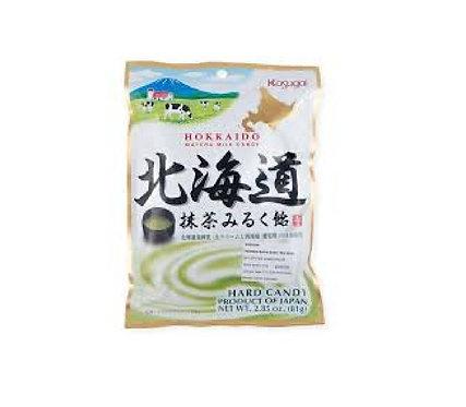 Hokkaido Matcha Milk candy 92g 春日井北海道抹茶ミルク飴