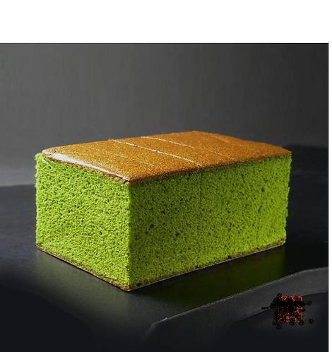 Uji Green tea Matcha cake 1 portion宇治抹茶カステラ1個