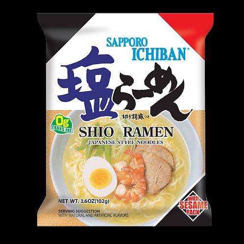 Sapporo ichiban Shio ramen1p サッポロ一番塩ラーメン