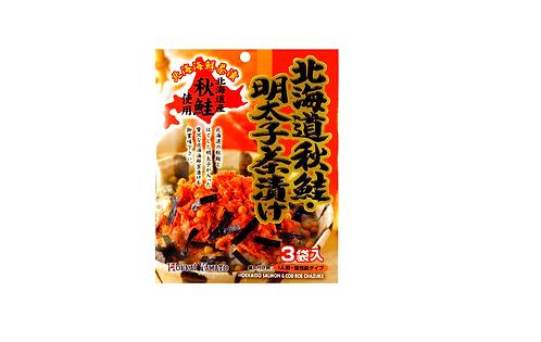 Hokkaido Salmon & Mentaiko chazuke 3p北海道秋鮭明太子茶漬け