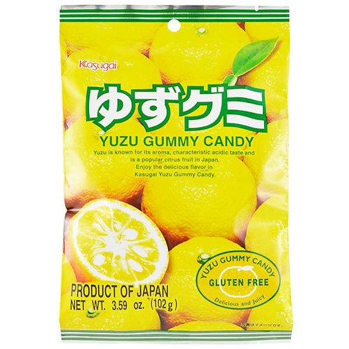 Yuzu gummy candy Kasugai