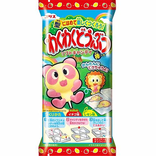 Wakuwaku dobutsu soft candy20g ワクワク動物ソフトキャンディ