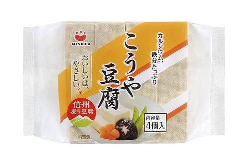 Dried Koya Tofu Misuzu 4pcs みすずこうや豆腐4コ