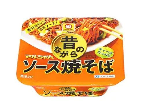 Mukashi sauce yakisoba cup マルちゃん昔ながらのソースやきそば
