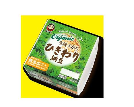 Bio organic Hikiwari Natto3p アズマひきわり納豆3パック