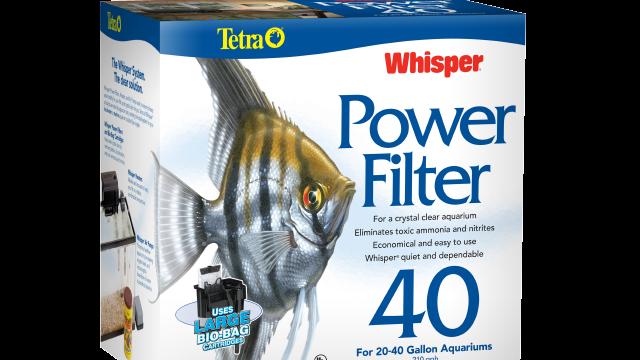 Tetra-fish Whisper Power Filter