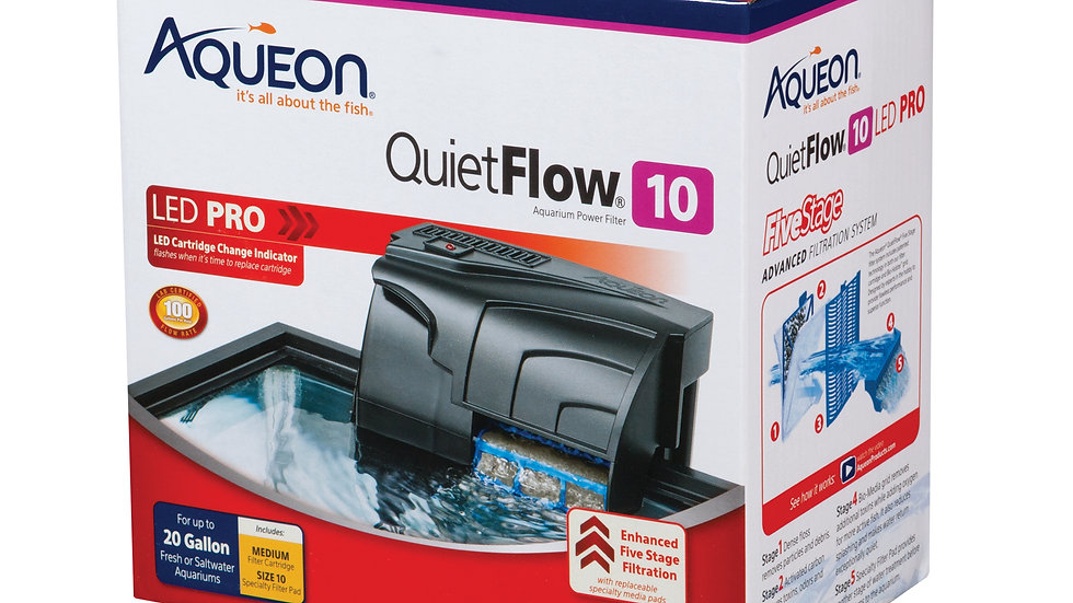 QuietFlow LED PRO Aquarium Power Filters