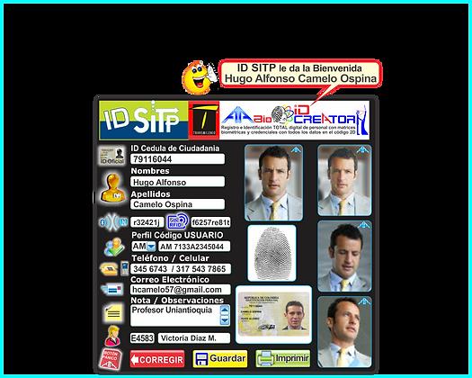 AS04 A1A Bio ID Creator Carnets y Credenciales NFC