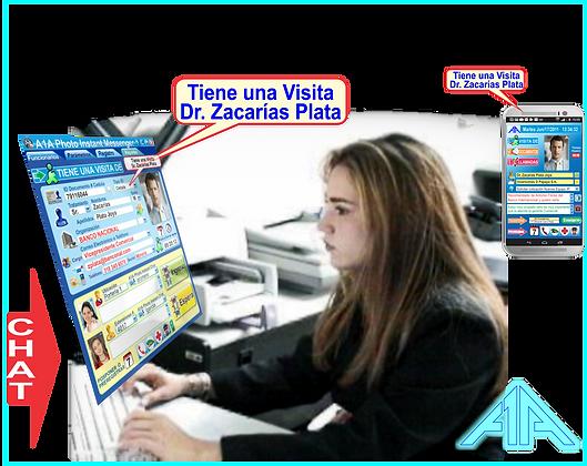 AS06 A1A FOTO Instant Messenger & Panic Button