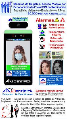 Módulos de Registro, Acceso Masivo por Reconocimiento Facial