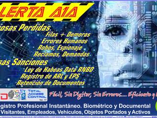 A1A IDentifica es un Registro Profesional Instantáneo. Identificación Plena de personas en su primer