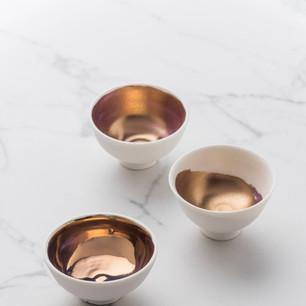 MAHONEY, Katherine 嘉芙蓮.馬可尼 Gilded bowls