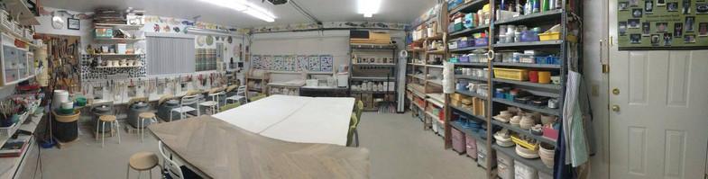 Wong Ping Kwong's studio