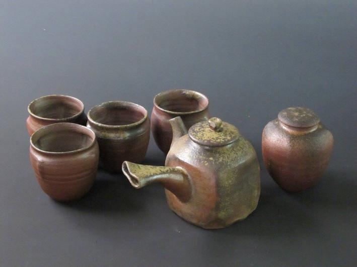 Taiwan wood fired tea set