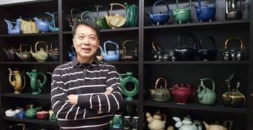 Wong Ping Kwong and his teapots